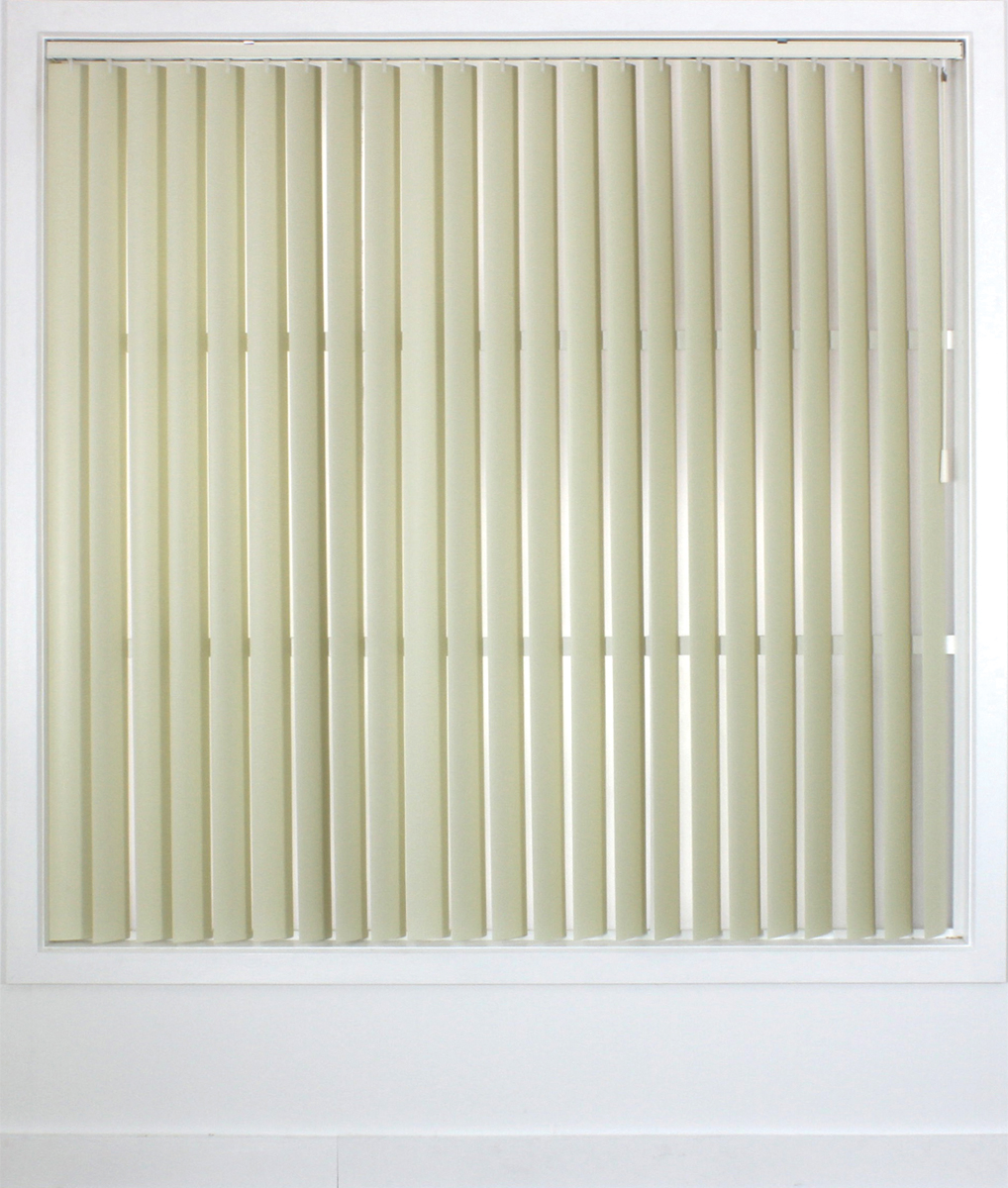<b>Vertical Blind 89mm </b><p> Alabaster