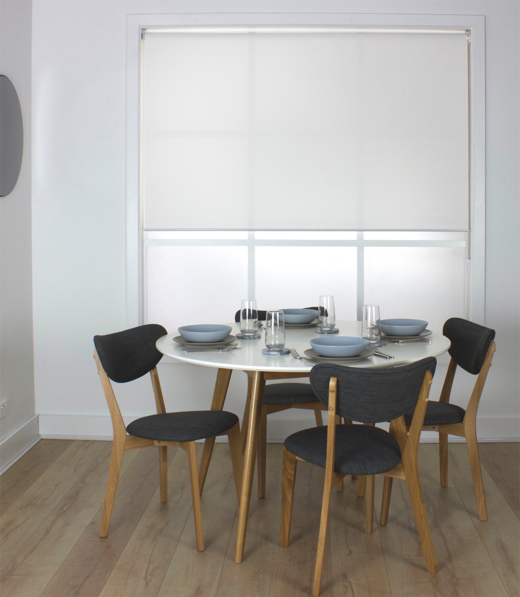 Sunveil White Light Filtering Roller Blind Smart Home