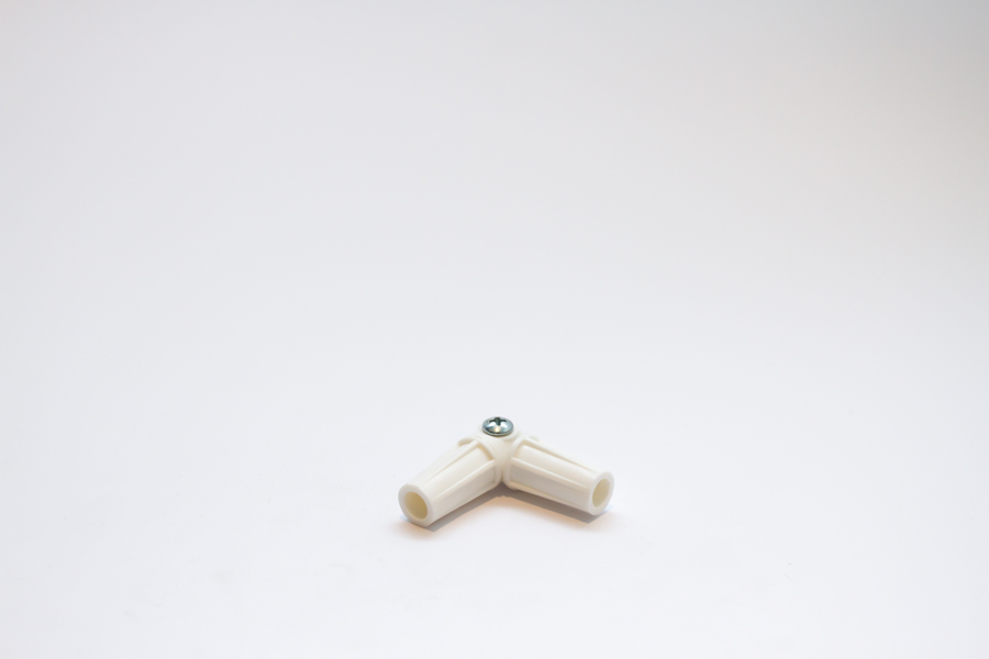 16mm Rod Elbow Joint White