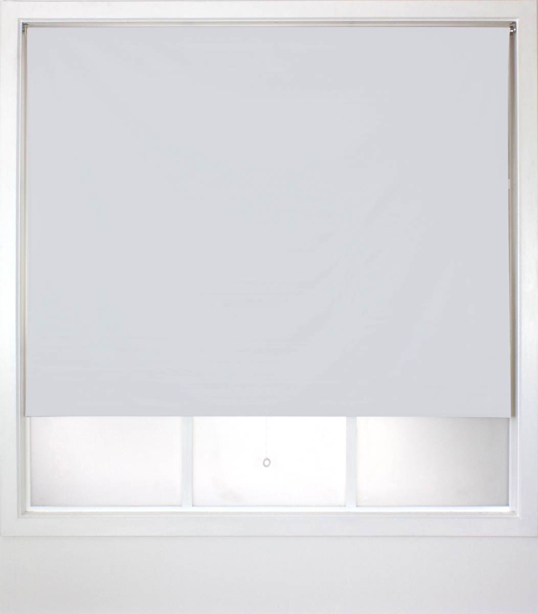 <b> Easy Peel PVC <p> Roller Blind </p><p></b> White