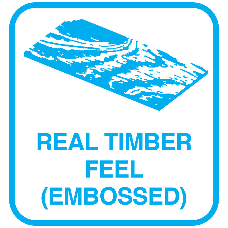 Real timber feel