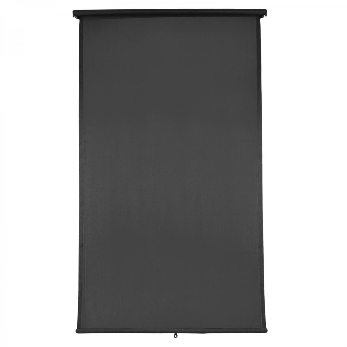 <b>Retractable Blind</b> <p> Charcoal