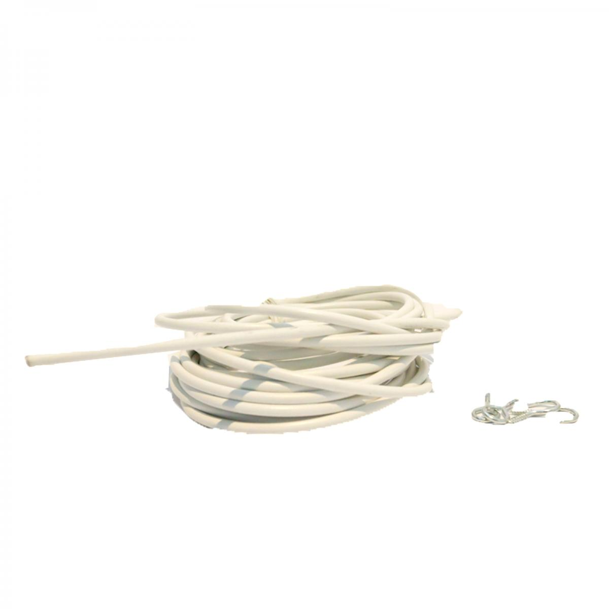 Curtain Wire Kit With Hooks And Eyes White Smart Home Products House Wiring Bcurtain