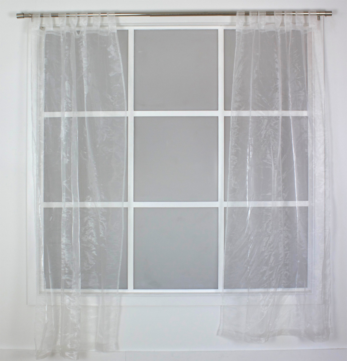 Curtain Tab Top Organza 110 X 210cm Smart Home Products