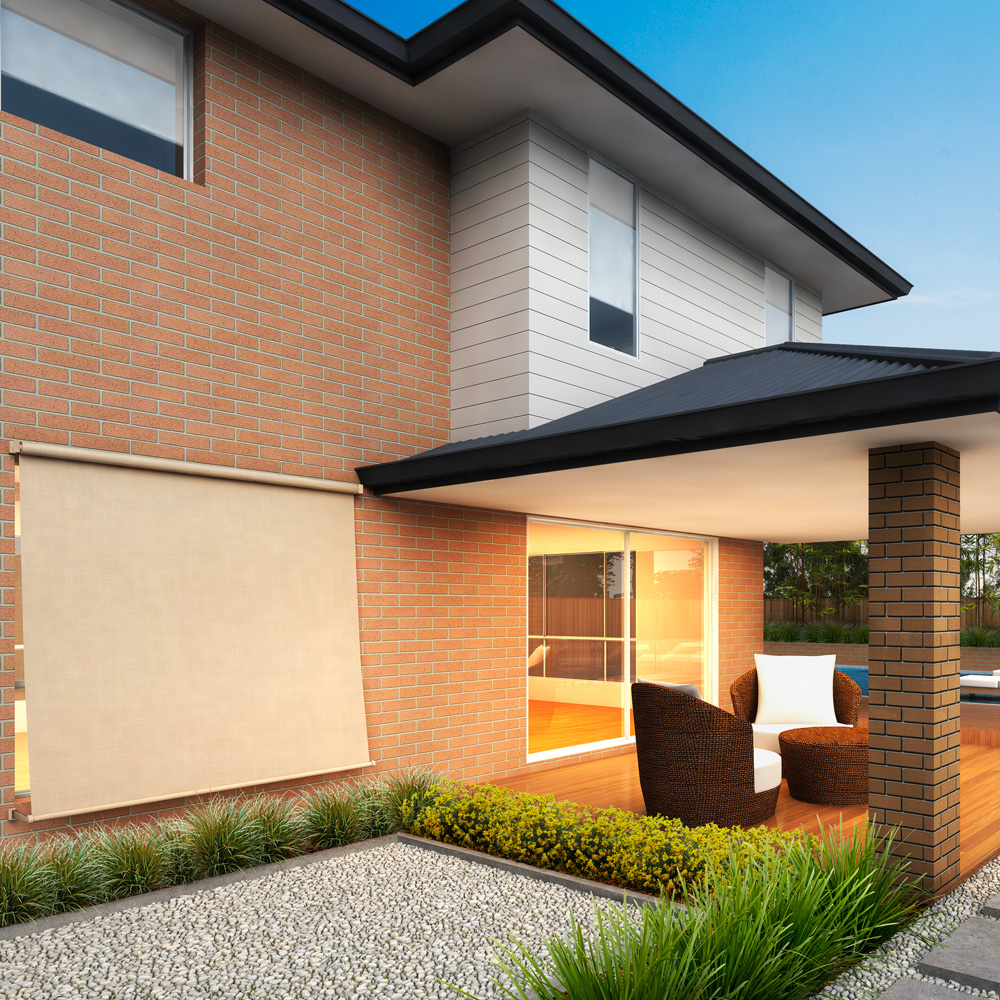 <b>Retractable Blind </b><p> Northern Sands
