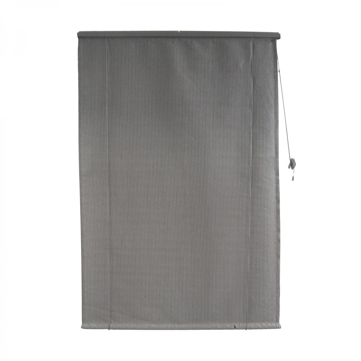 <b>Shadecloth Roll Up Blind </b><p>Graphite