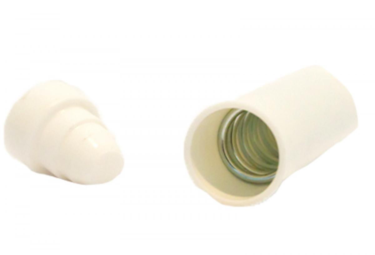 <b>Spring Fit 16mm Rod End White</b>